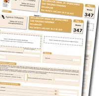 anexo i modelo 347 1 0 - NOTA DE AVISO-Cambios en las declaraciones informativas de los modelos 347 y 180