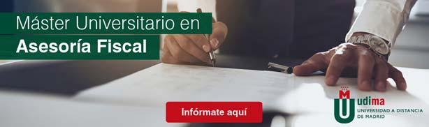 Máster Universitario en Asesoría Fiscal