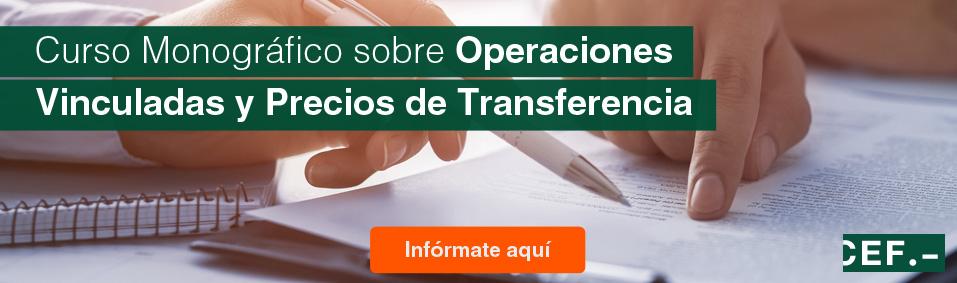 Curso sobre operaciones vinculadas y precios de transferencia