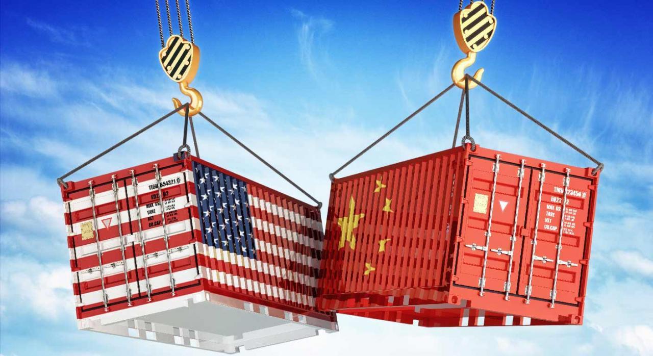 Guerra económica comercial entre Estados Unidos y China