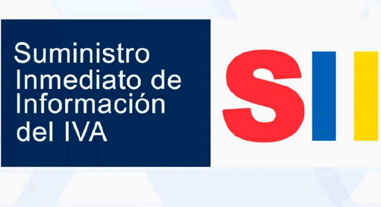 Información para los sujetos pasivos que suscriben acuerdos de ventas de bienes en consigna acogidos al SII. Imagen del logo SII