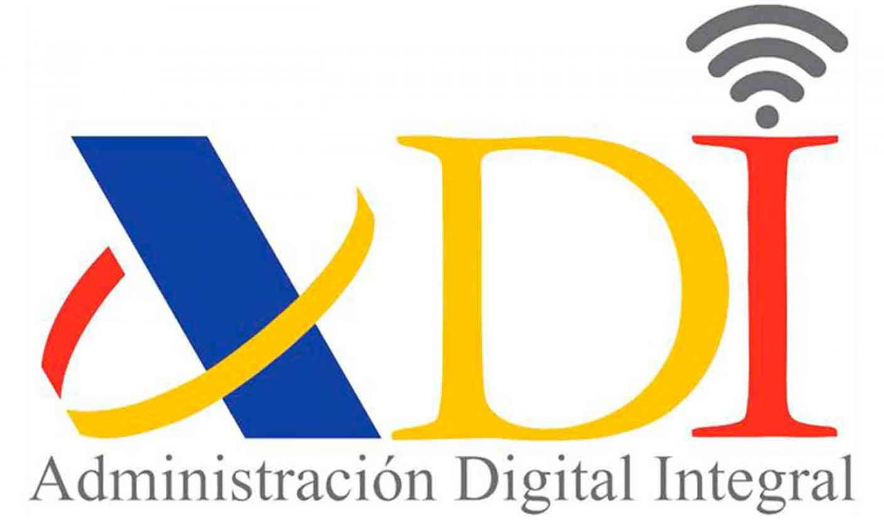Mostrador virtual adi. Logotipo de la Administración Digital Integral