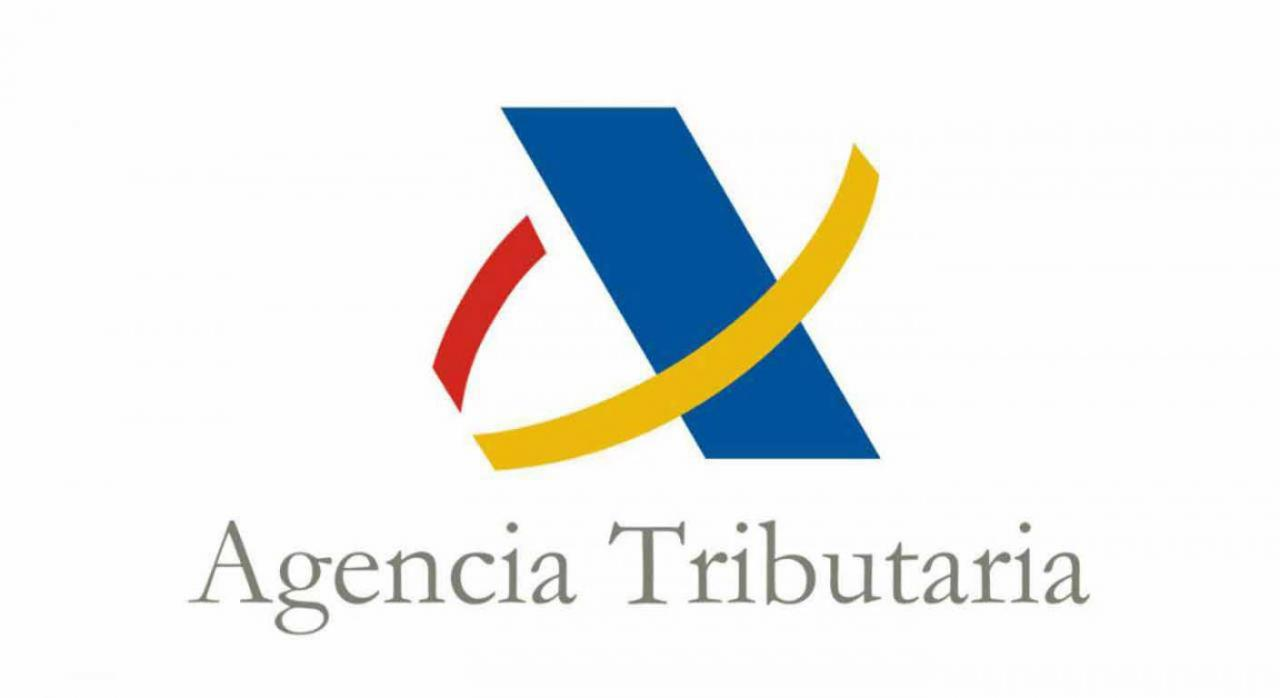 Canal de ayudas para dudas en la Agencia Tributaria. Logo de la Agencia Estatal de Administración Tributaria