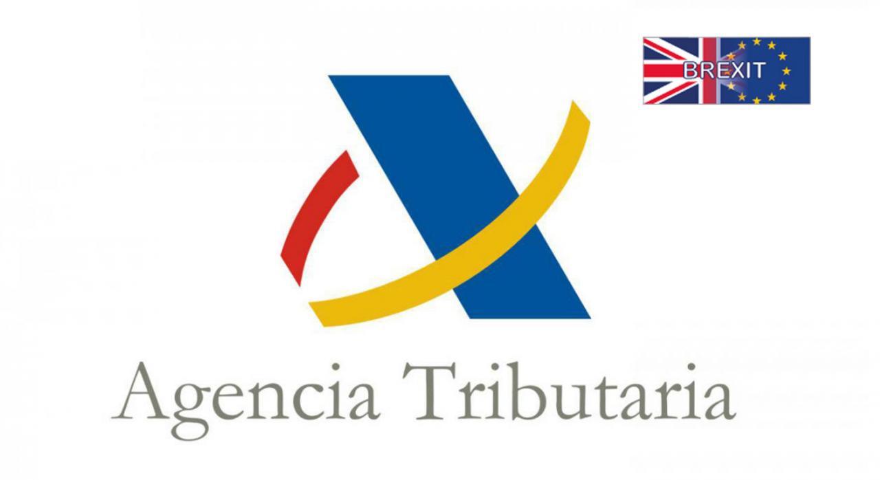 Nuevo banner relativo al Brexit de la Agencia Tributaria