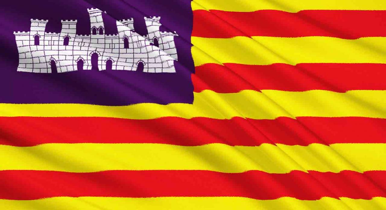 Presupuestos baleares 2021. Bandera de las Islas Baleares