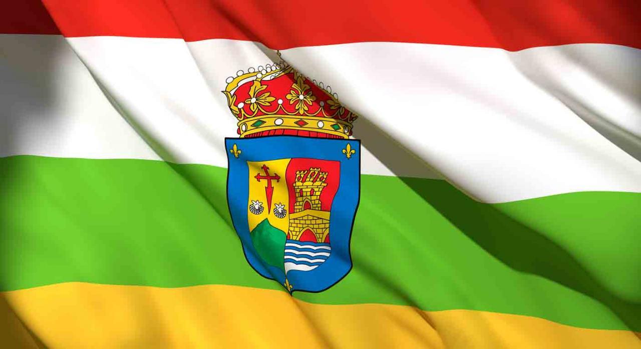 Medidas fiscales Rioja. Bandera de la Comunidad Autónoma de La Rioja