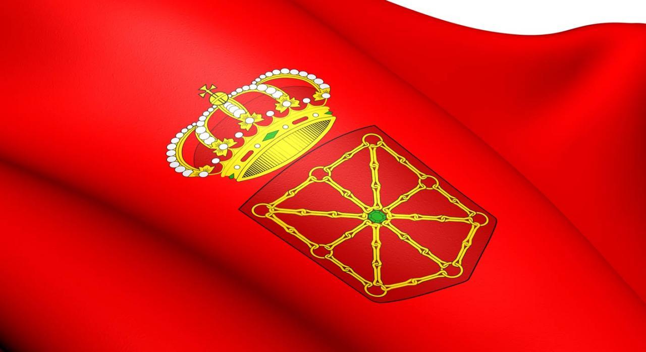 Más medidas tributarias contra el COVID-19 en Navarra. Imagen de bandera de Navarra