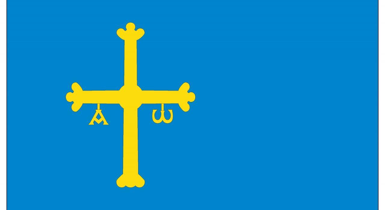 Presupuestos Asturias 2021. Bandera del Principado de Asturias