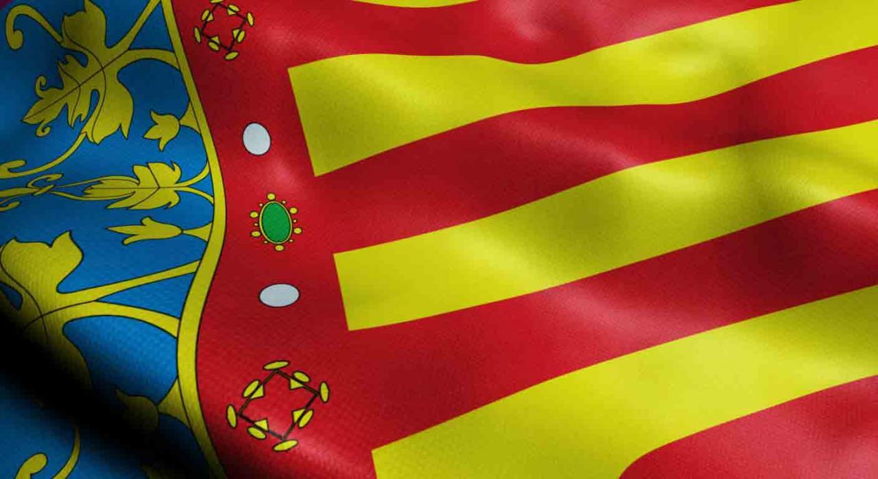 Medidas fiscales, Comunidad Valenciana, 2021, IRPF, IP, ISD, ITP y AJD, juego. Bandera de la Comunidad Valenciana