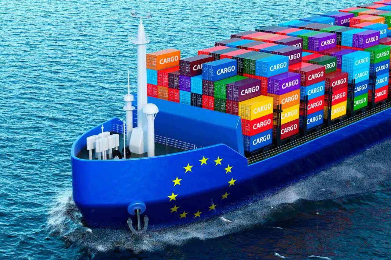 ics 2. Barco de mercancías