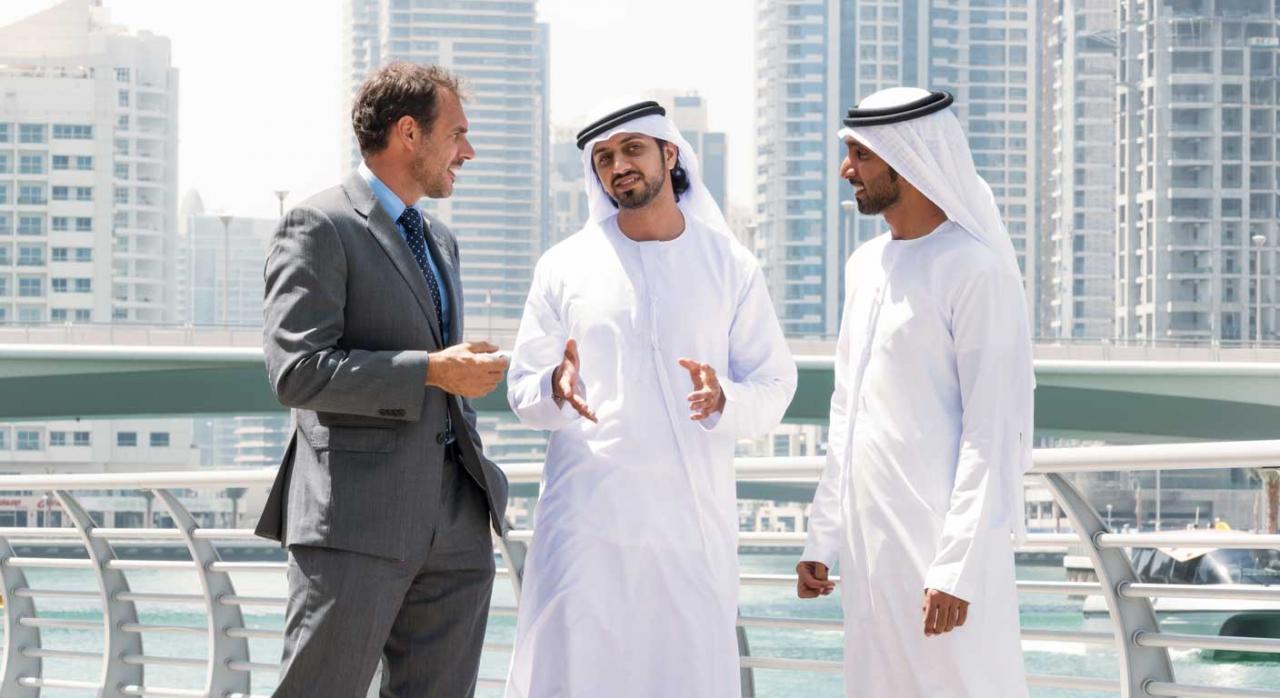 Imagen Reunión de ejecutivos de Oriente Medio, bonificación fiscal para grandes inversores