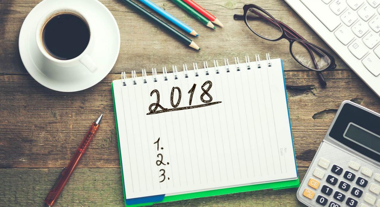 Calendario del contribuyente de marzo de 2018