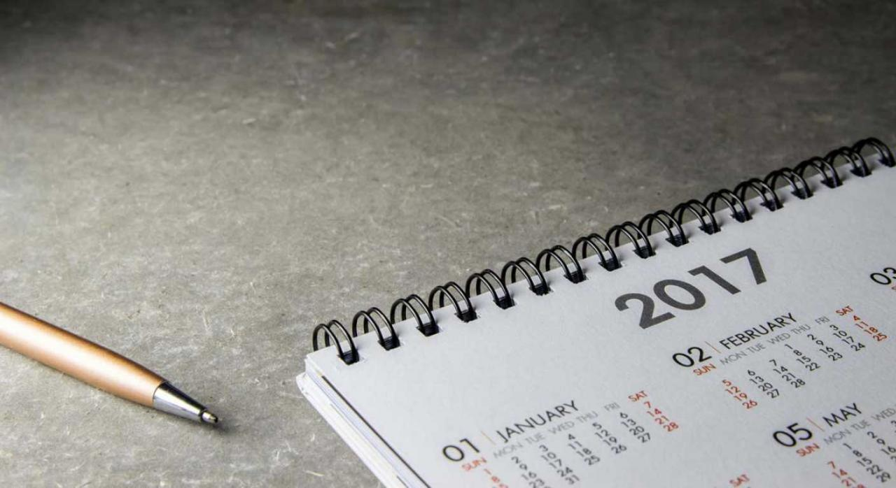Calendario del contribuyente: Agosto 2017