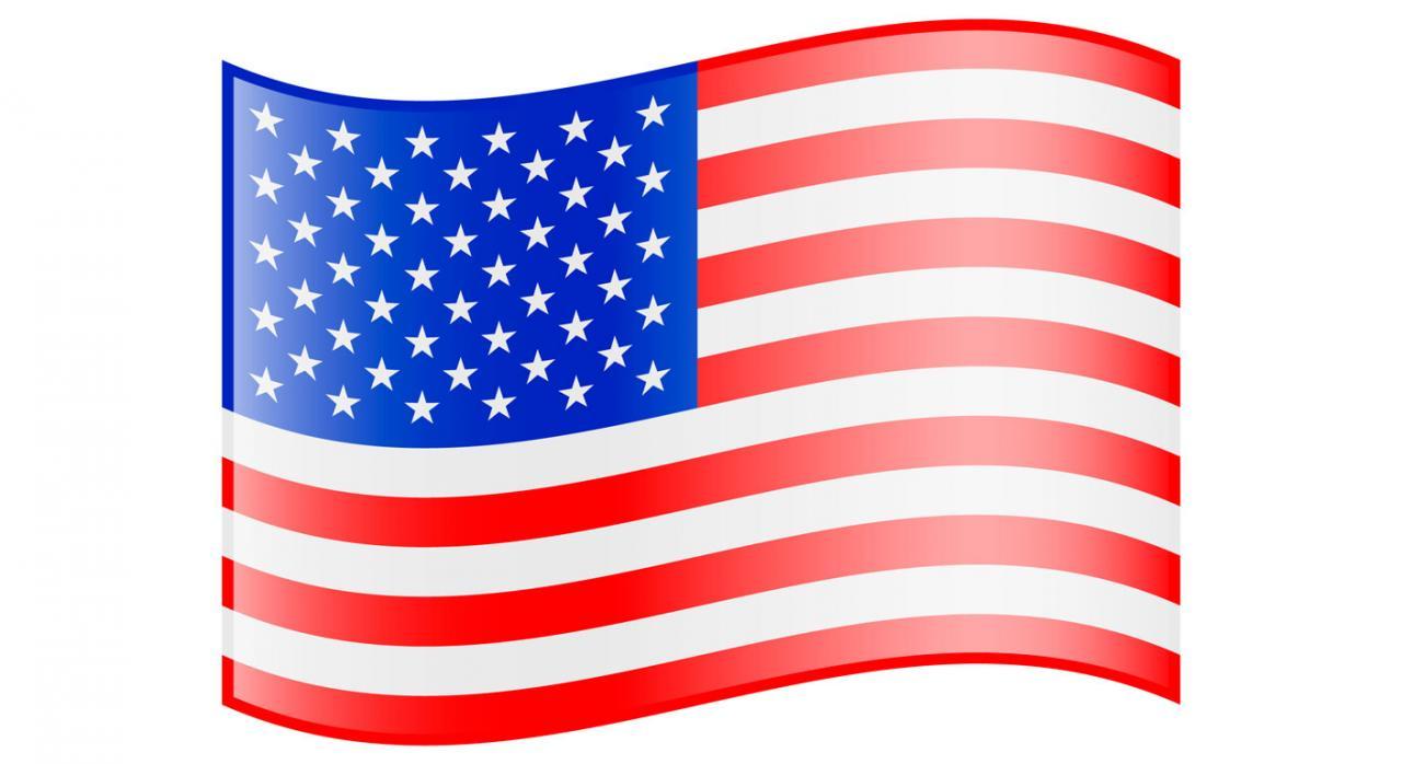 La tributación por la cesión del uso de programas informáticos según el Convenio con Estados Unidos. Imagen de la bandera de los Estados Unidos