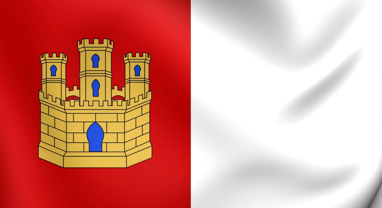 Medidas tributarias en Castilla-La Mancha. Bandera de Castilla-La Mancha