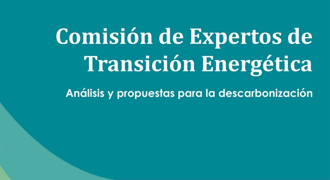 Comisión de expertos transición energética