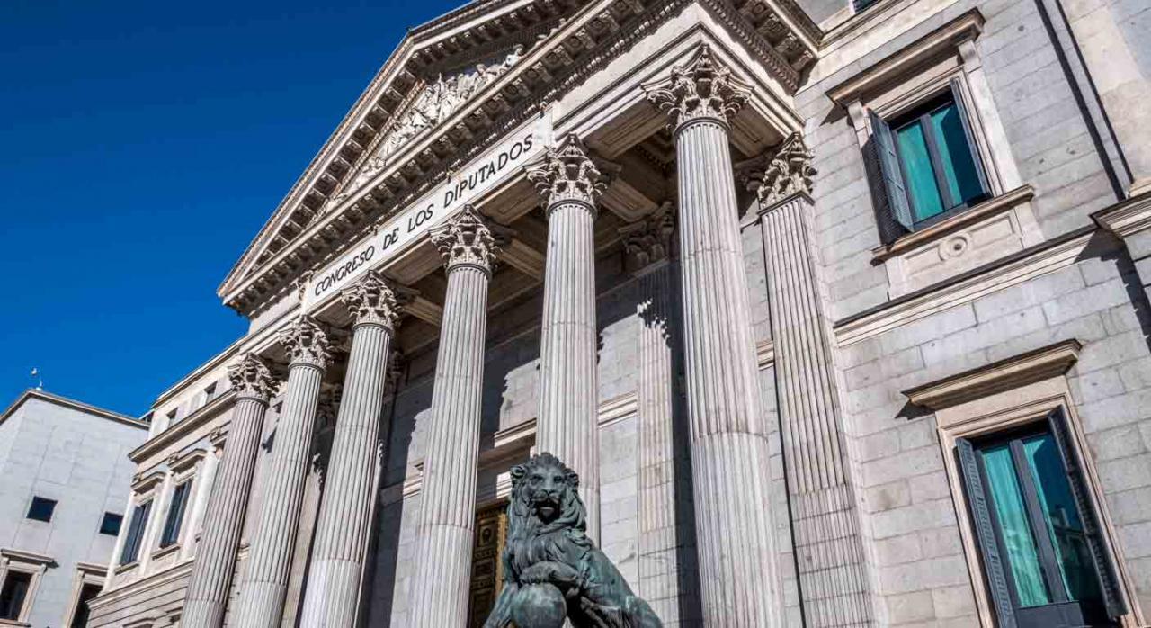 Publicación Acuerdo de derogación del Real Decreto-ley 27/2020. Imagen del Congreso de los Diputados