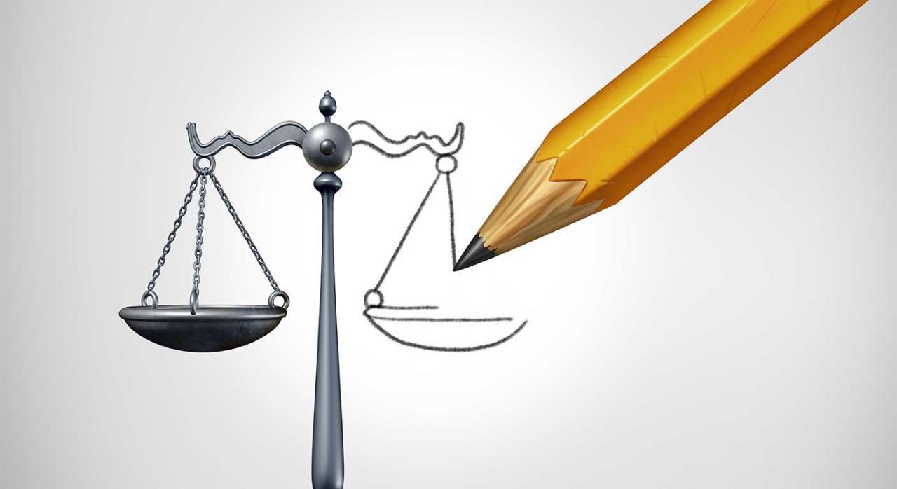 Consulta costas judiciales. Imagen de una balanza