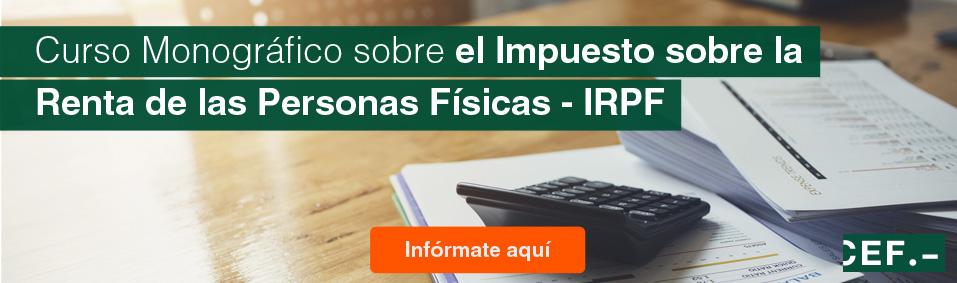 Curso moográfico sobre el IRPF