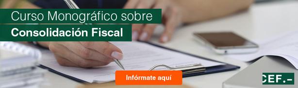 Curso monográfico sobre consolidación fiscal