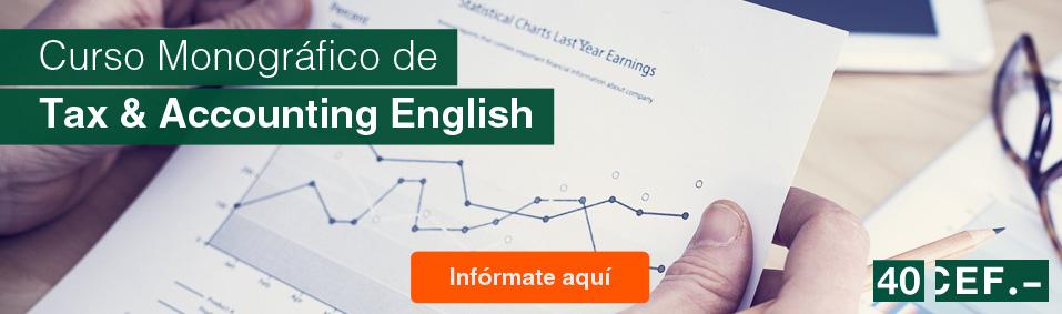 ¿Estamos preparados para la contabilidad y la fiscalidad internacional en inglés?