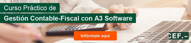 Curso Práctico de Gestión Contable-Fiscal con A3 Software