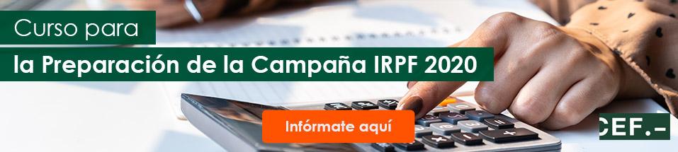 Curso para la Preparación de la Campaña IRPF 2020