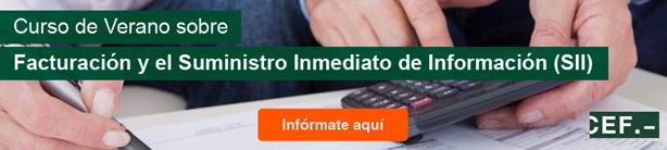 Curso de Verano sobre Facturación y el Suministro Inmedito de Información (SII)