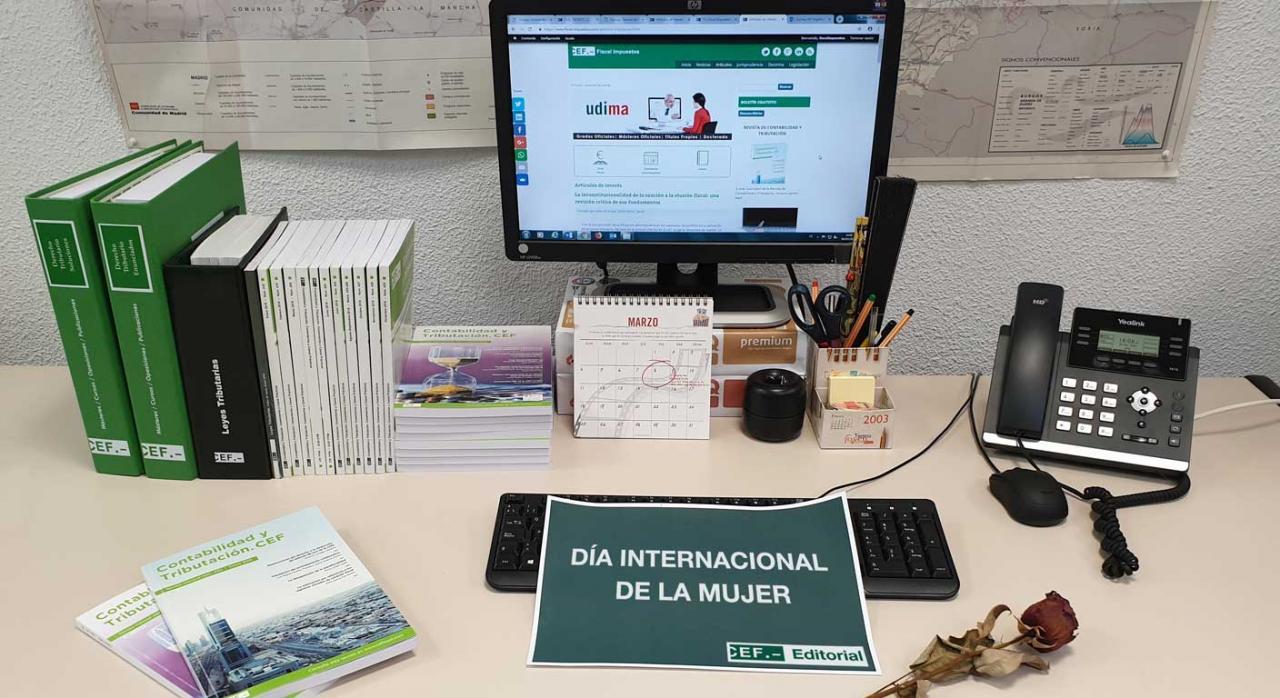 Fiscal impuestos día internacional de la mujer