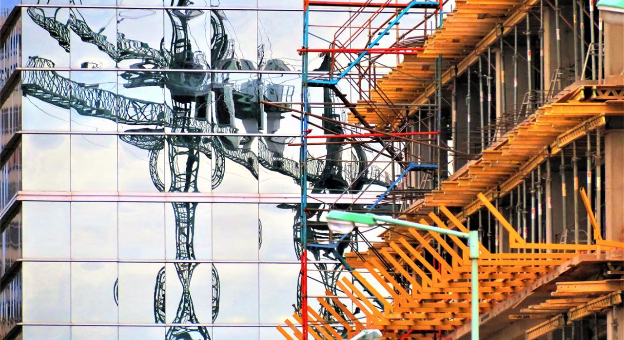 Exención, IS, UTEs, extranjero, AN. Imagen de una construcción de edificios
