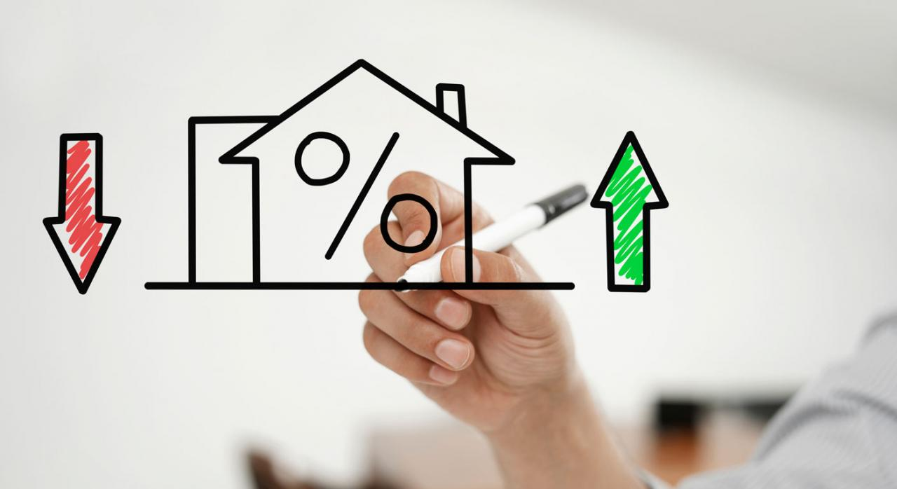 Préstamos hipotecarios actos jurídicos documentados. Dibujo sobre tasas de viviendas e hipotecas