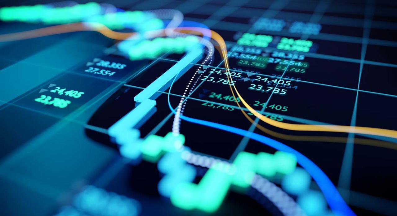 Proyecto de Real Decreto sobre la gestión del Impuesto sobre Transacciones Financieras. Imagen de gráfico del mercado de valores