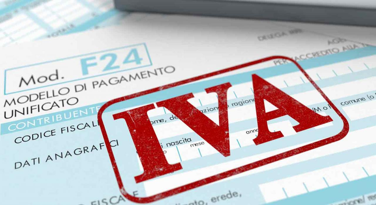 IVA. Modelo impreso italiano  para impuesto del IVA