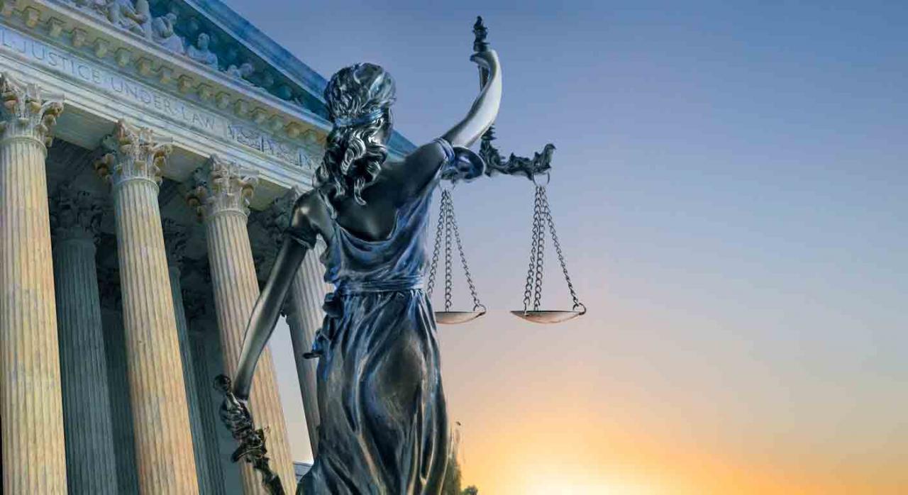 Sentencias, Tribunal Supremo, junio, 2020. Estatua de la Dama de la Justicia