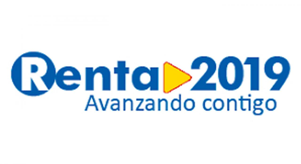 Campaña de Renta 2019. Imagen de logo de Renta 2019