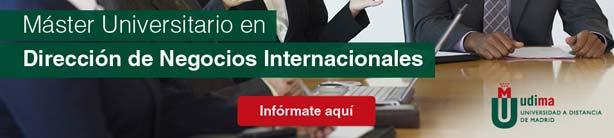 Máster Universitario en Dirección de Negocios Internacionales