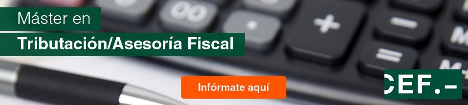 Máster profesional en Tributiación y Aseosria Fiscal