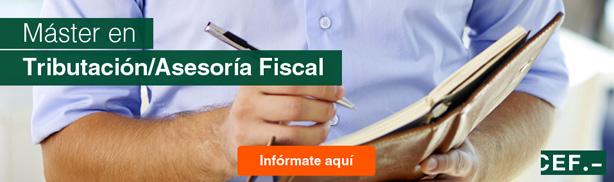 Master en tributación y asesoria fiscal