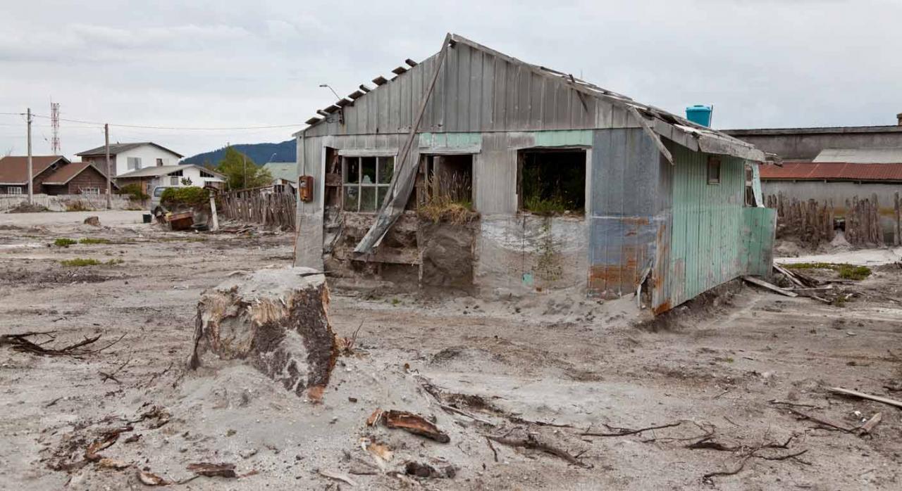 Canarias establece medidas tributarias extraordinarias en La Palma. Imagen de paisaje después de la erupción del volcán