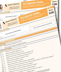 Proyecto de Orden que aprueba nuevos modelos de declaración censal -036 y 037-