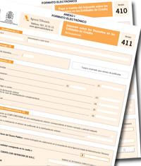 Proyecto de Orden que aprueba los modelos 410 y 411 de autoliquidacióny pago a cuentadel Impuesto sobre los Depósitos en las Entidades de Crédito