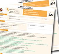 Pagos fraccionados IS: Proyecto de orden de aprobación de los modelos 202 y 222