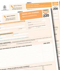 Proyecto de Orden que aprueba los modelos 200 y 220 del Impuesto sobre Sociedades 2015