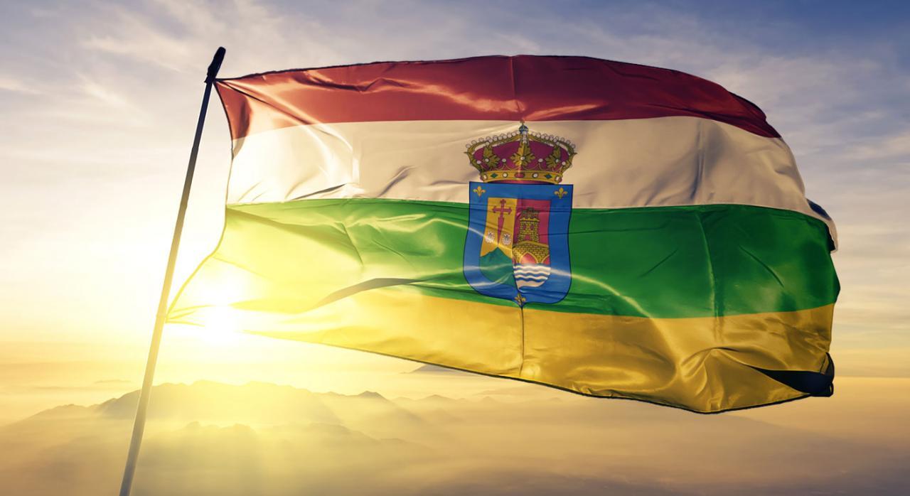 Beneficios fiscales adoptados por La Rioja en IRPF, IP, ISD e ITP destinados al fomento de la cultura. Imagen de la bandera de la Rioja