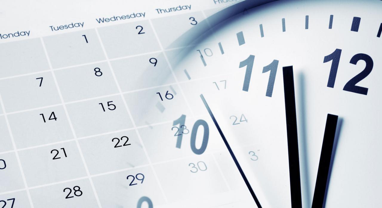 Pluralidad de notificaciones. Reloj y calendario