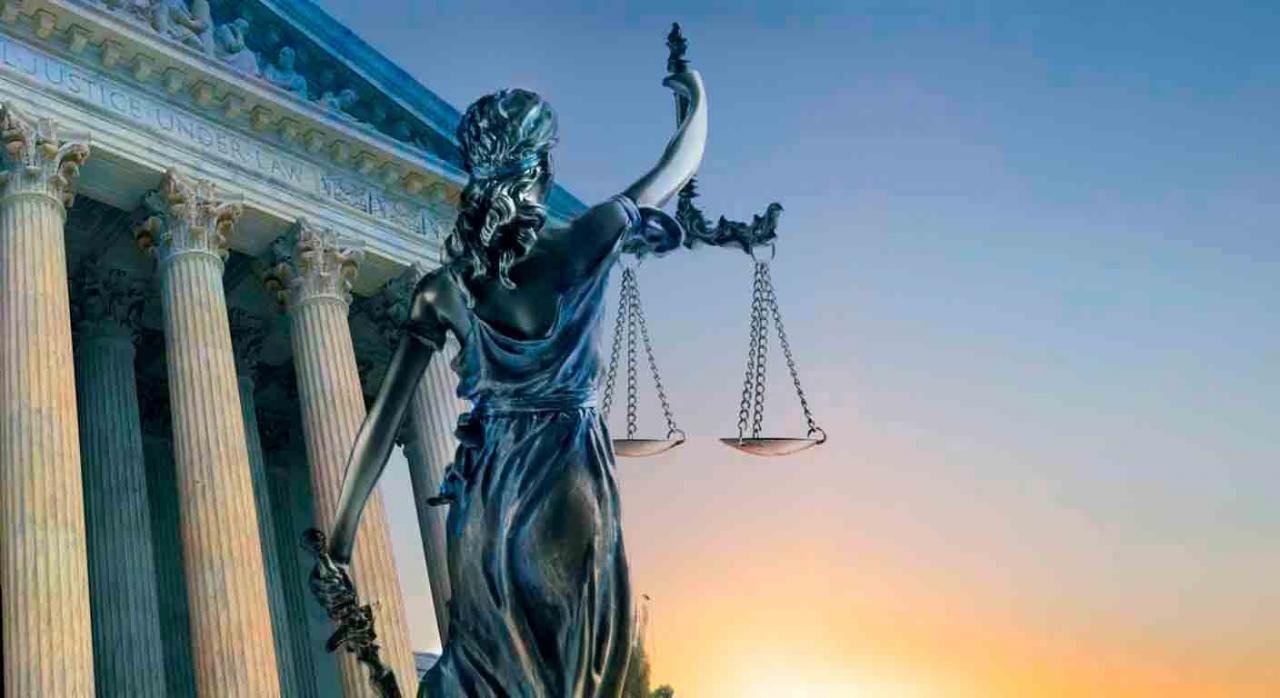 Nuevos pronunciamientos del Tribunal Supremo. Estatua de la Dama de la Justicia