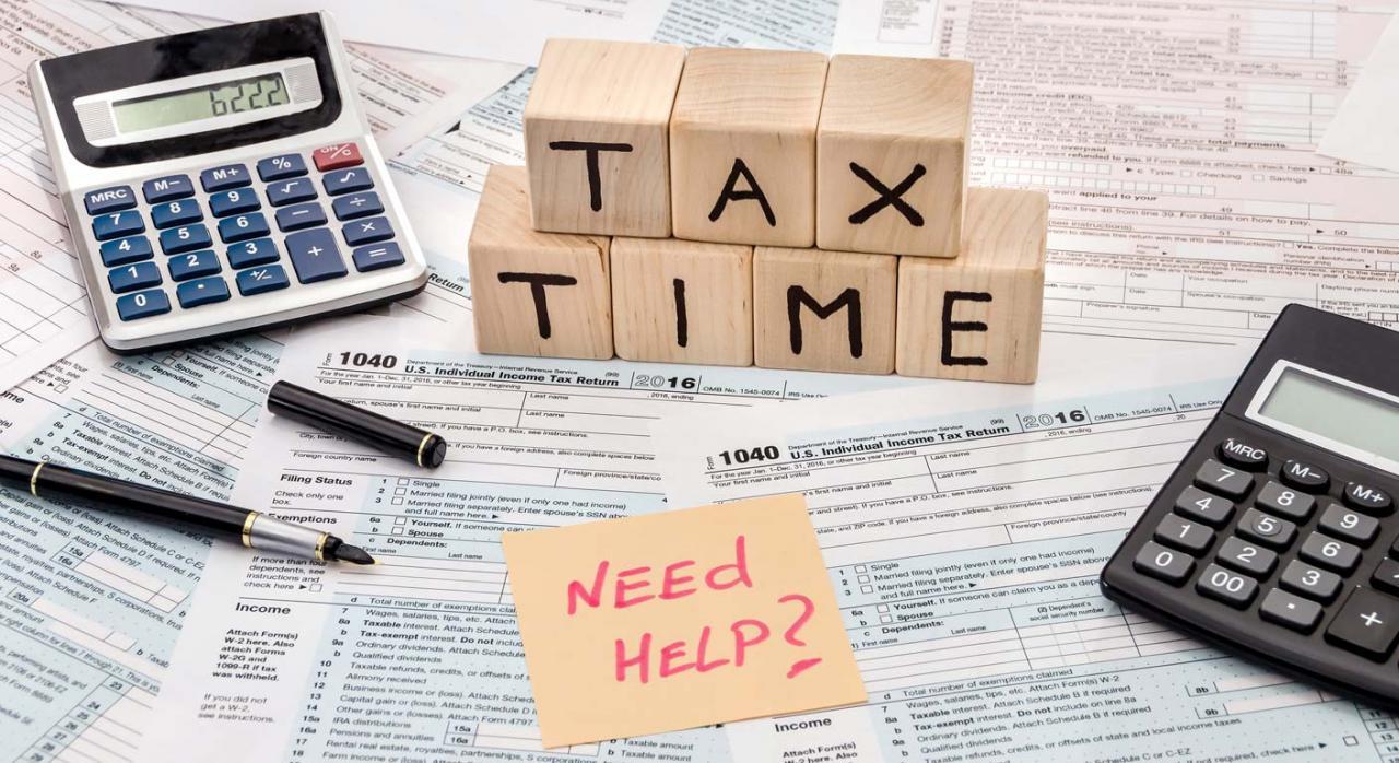 Necesitas ayuda con los impuestos