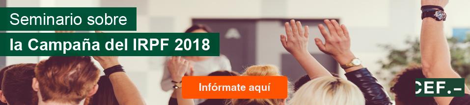Seminario Campaña IRPF 2019