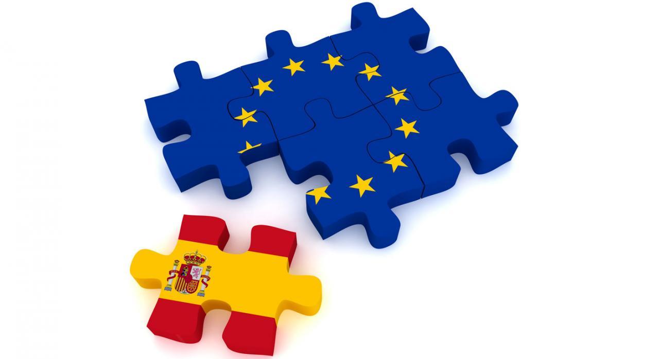 Transposición de la DAC 6 y la obligación de información. Imagen puzzle Europa con ficha de España en encaje