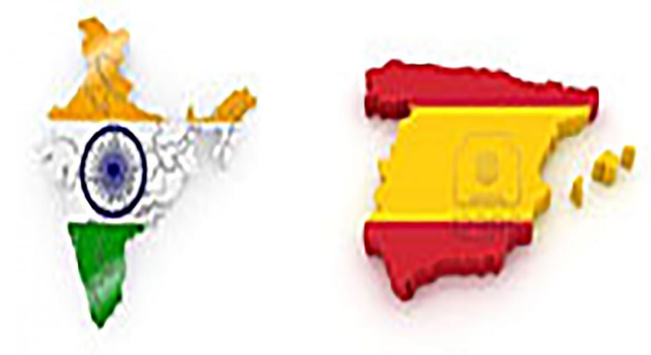 Modificado el Convenio sobre doble imposición entre España e India de 1993. Imagen del mapa de España e India